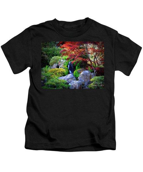 Autumn Waterfall Kids T-Shirt