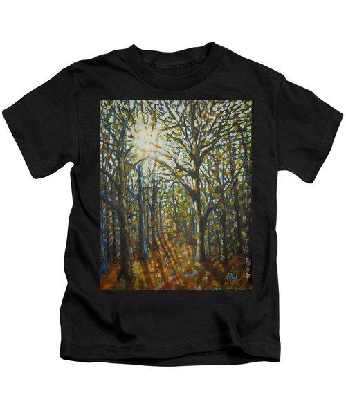 Autumn Wood Kids T-Shirt