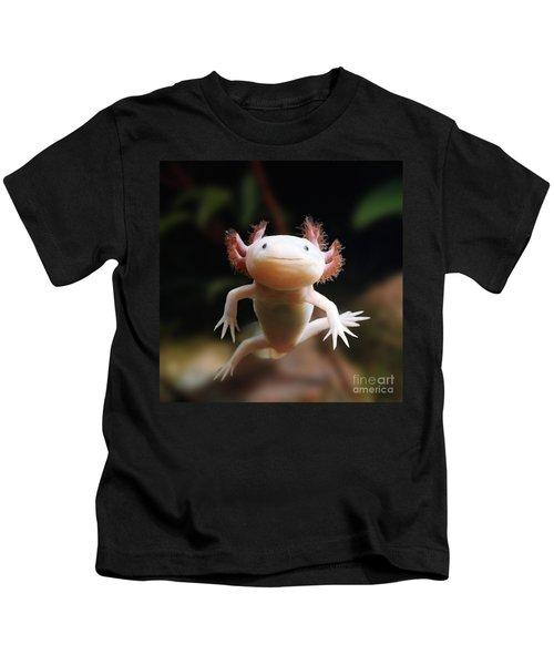 Axolotl Face Kids T-Shirt