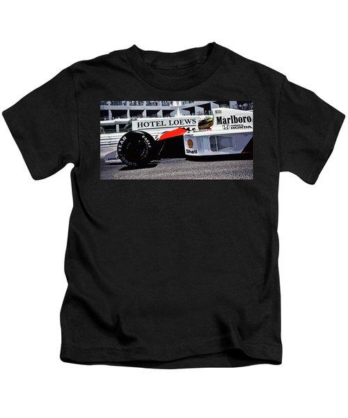 Ayrton Senna - Montecarlo Kids T-Shirt