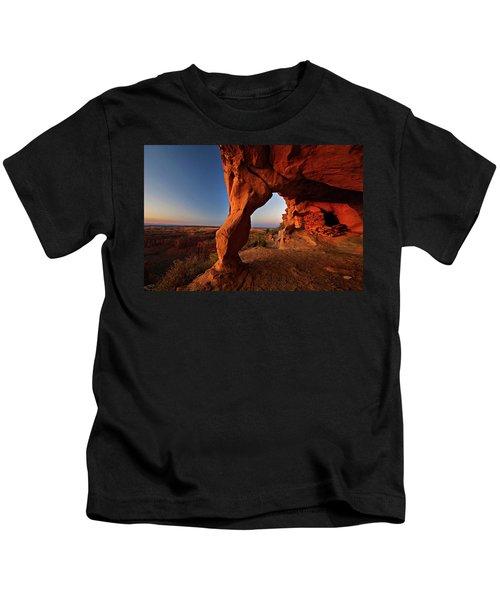 Aztec Butte Kids T-Shirt