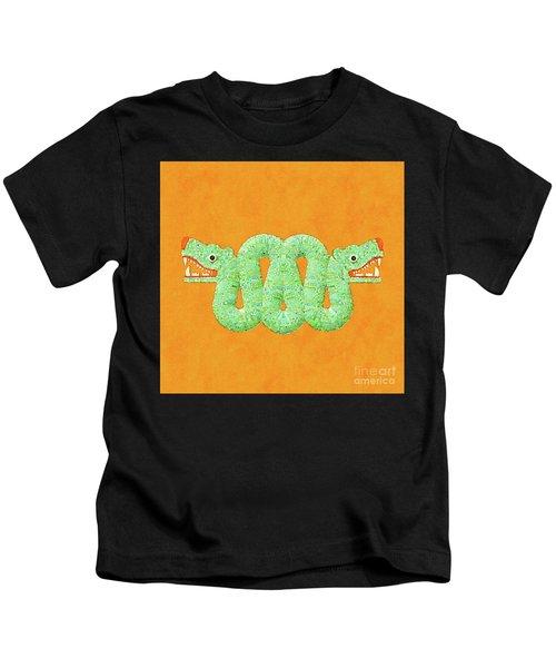 Aztec Serpent Kids T-Shirt