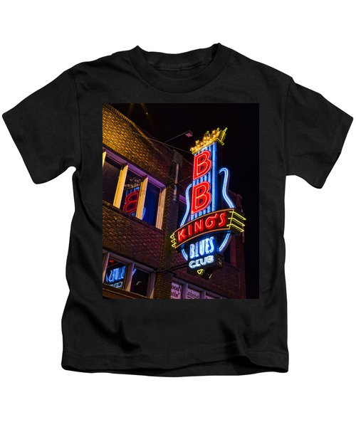 B B Kings On Beale Street Kids T-Shirt