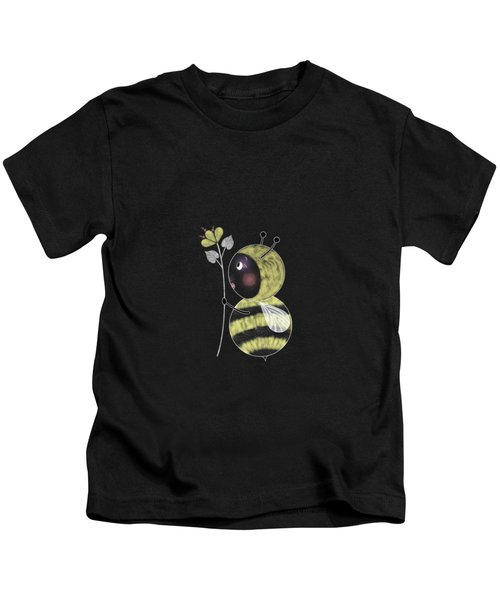 B Is For Bumble Bee Kids T-Shirt