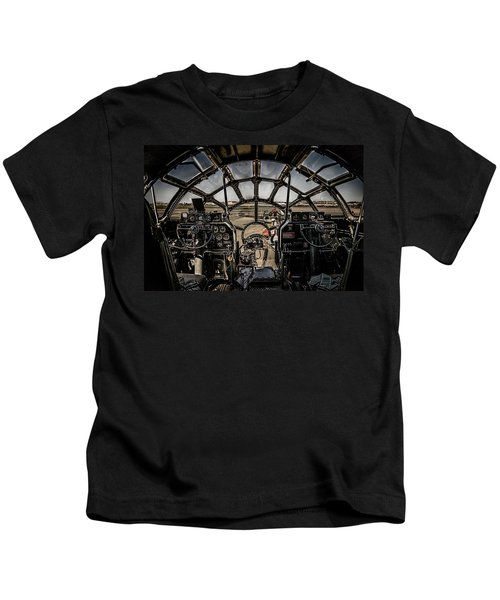 B29 Superfortress Fifi Cockpit View Kids T-Shirt