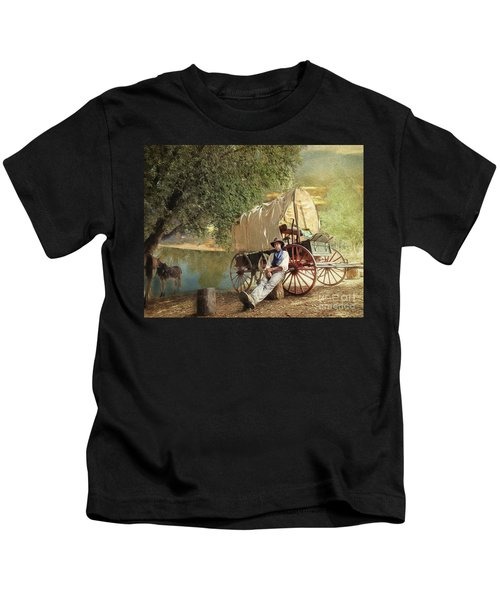 Back Country Camp Out Kids T-Shirt