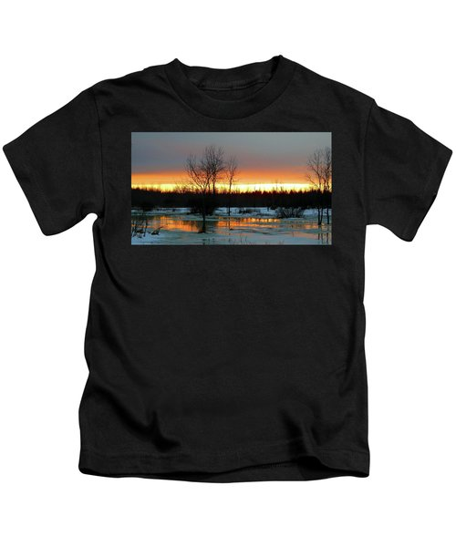 Back Roads Of Clayton Kids T-Shirt