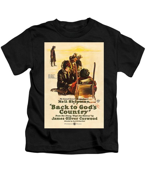 Back To God's Country 1919 Kids T-Shirt