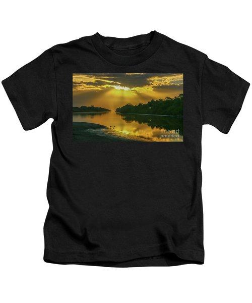 Back Up Reflection Kids T-Shirt