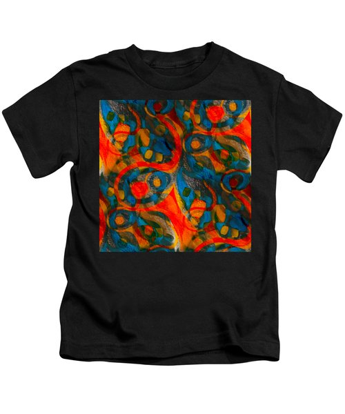 Background Choice Coffee Time Abstract Kids T-Shirt