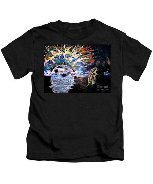 Bad Moon Rising Kids T-Shirt