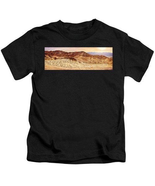 Badlands Formation Kids T-Shirt