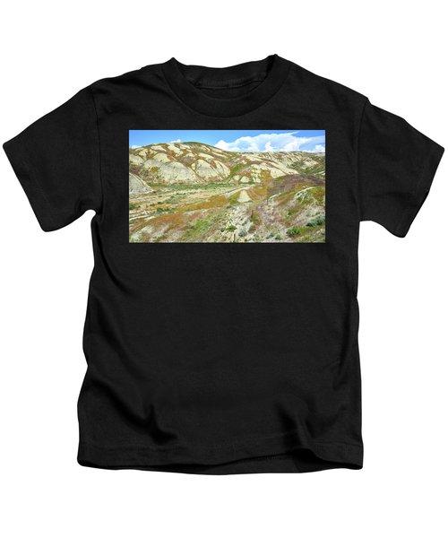 Badlands Of Wyoming Kids T-Shirt