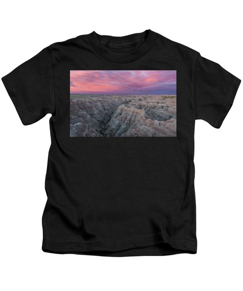 Badlands Sunrise Kids T-Shirt