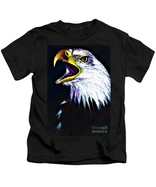 Bald Eagle - Francis -audubon Kids T-Shirt