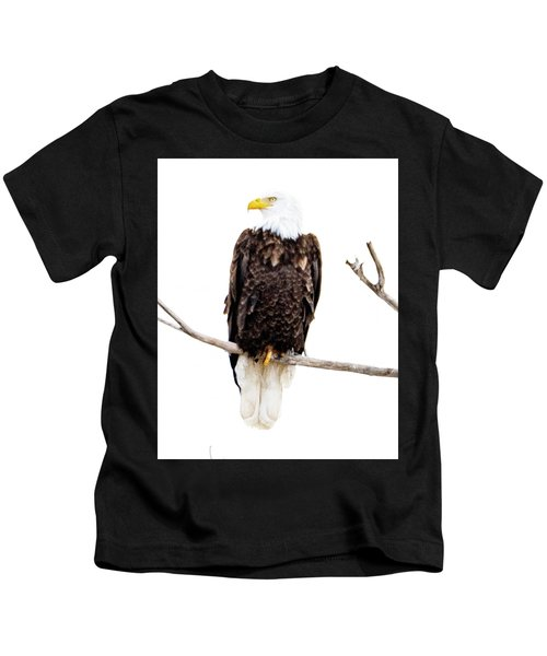 Bald Eagle Kids T-Shirt