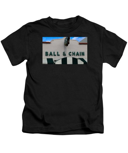 Ball And Chain Kids T-Shirt