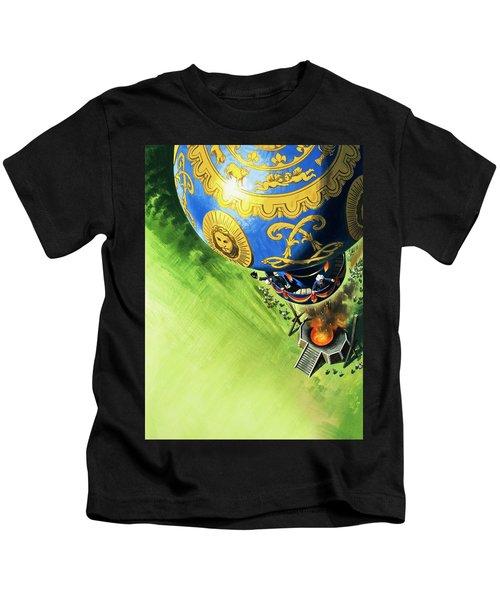 Balloon Ascent  Kids T-Shirt