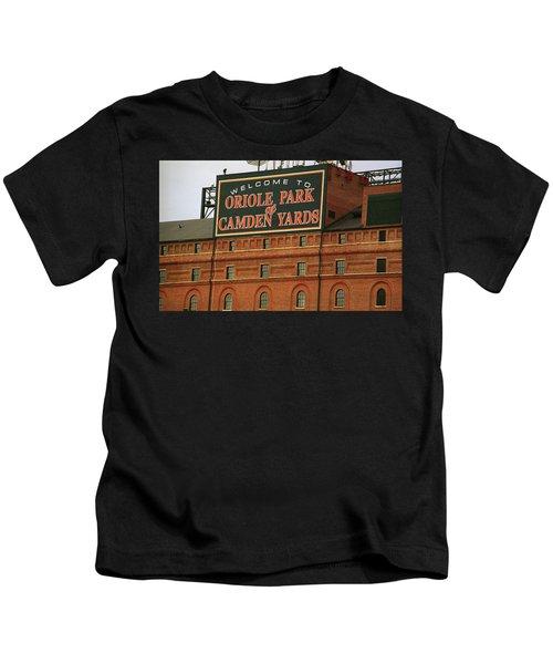 Baltimore Orioles Park At Camden Yards Kids T-Shirt