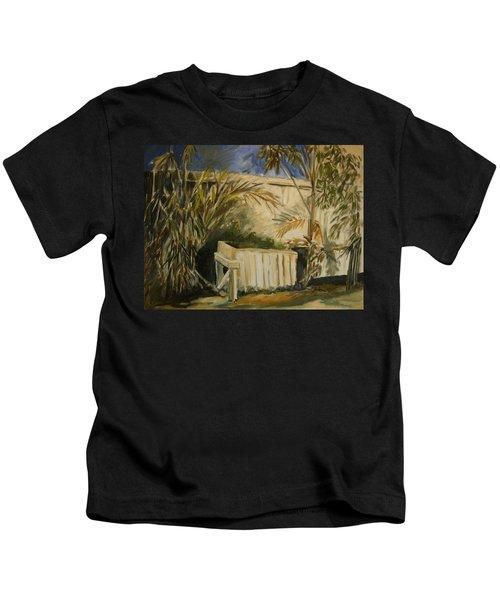 Bamboo And Herb Garden Kids T-Shirt