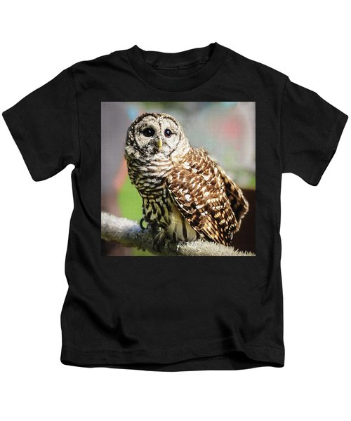 Barred Owl Kids T-Shirt