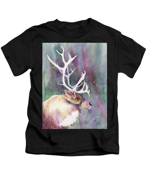Basking In The Lights Kids T-Shirt