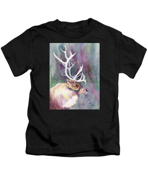 Basking In The Lights Kids T-Shirt
