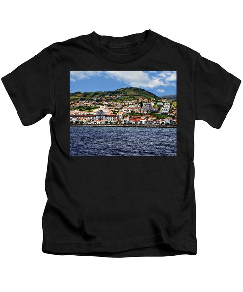 Bay Of Horta Kids T-Shirt