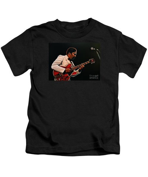 B. B. King Kids T-Shirt by Paul Meijering