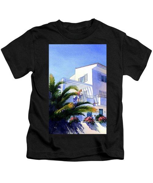 Beach House At Figueres Kids T-Shirt