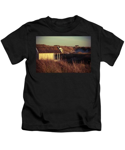 Beach Houses And Dunes Kids T-Shirt