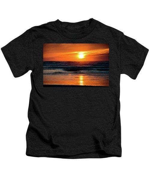 Beach Sunset Kids T-Shirt