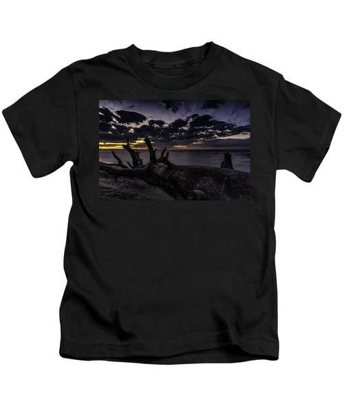 Beach Wood Kids T-Shirt