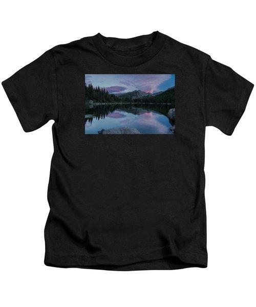Bear Lake Sunset Kids T-Shirt