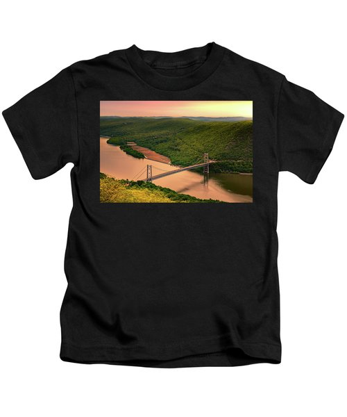 Bear Mountain Bridge Kids T-Shirt