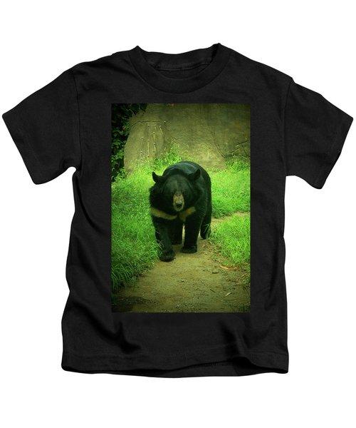 Bear On The Prowl Kids T-Shirt