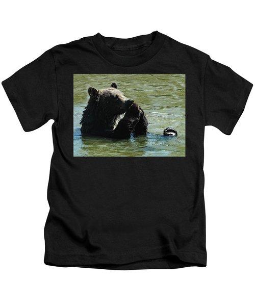 Bear Prayer Kids T-Shirt