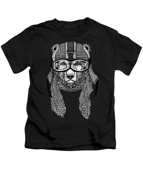 Bear Rider Kids T-Shirt