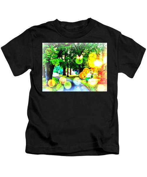 Beautiful Day For A Walk Kids T-Shirt