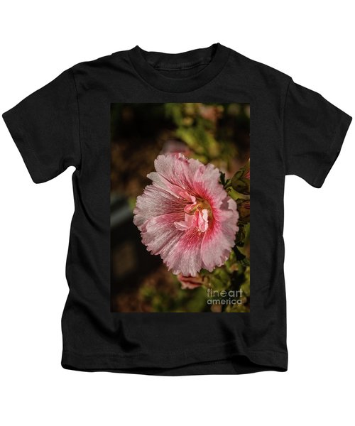 Beautiful Hollyhock Kids T-Shirt