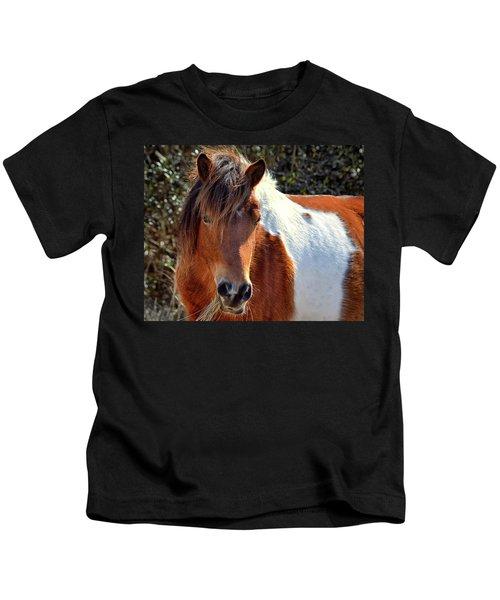 Beautiful Mare Ms. Macky Kids T-Shirt