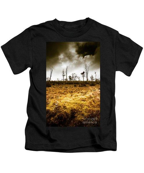 Beauty And Barren Bushland Kids T-Shirt