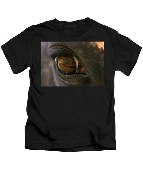 Beauty Is In The Eye Of The Beholder Kids T-Shirt