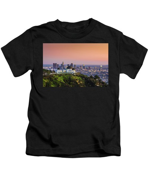 Beauty On The Hill Kids T-Shirt