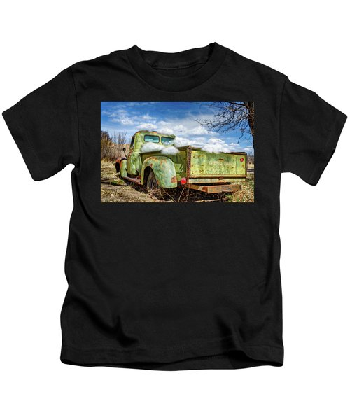Bed Full Of Clouds Kids T-Shirt