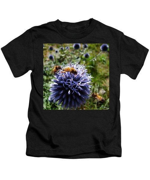 Bee Circles Kids T-Shirt
