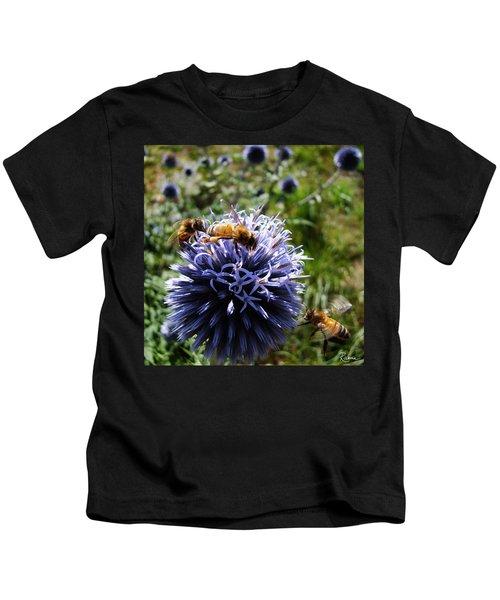 Bee Circles Kids T-Shirt