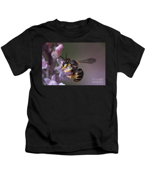Bee Sipping Nectar Kids T-Shirt