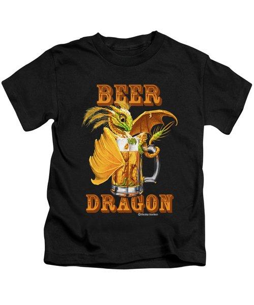 Beer Dragon Kids T-Shirt