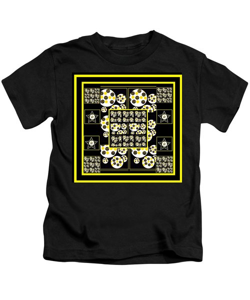 Bees Traveling Beyond Us Overlapping Kids T-Shirt